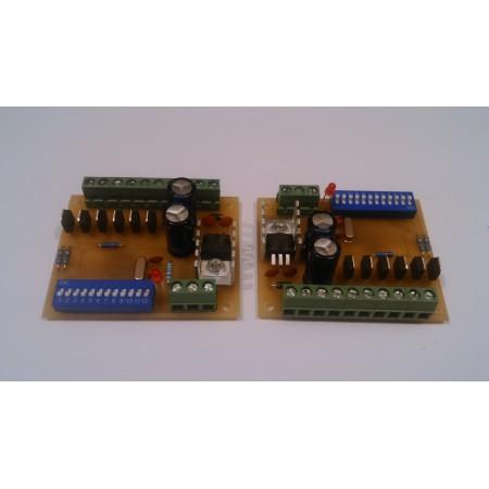 6 kanálovy DMX - RGB prevodník