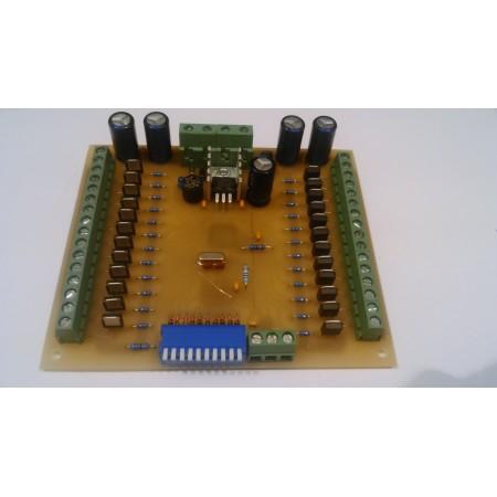 24 kanálovy DMX - RGB prevodník