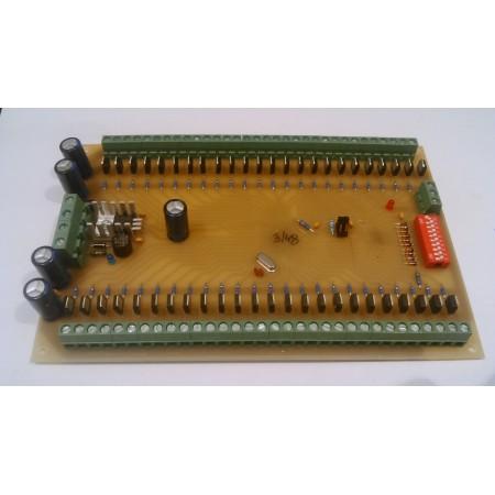 48 kanálovy DMX - RGB prevodník ver.1