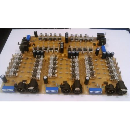 9 kanálovy DMX - RGB prevodník pro
