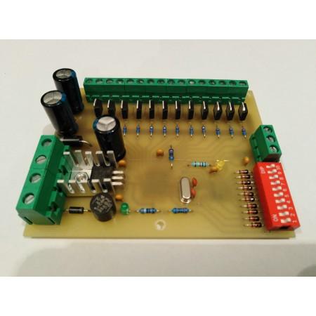 12 kanálovy DMX - RGB prevodník