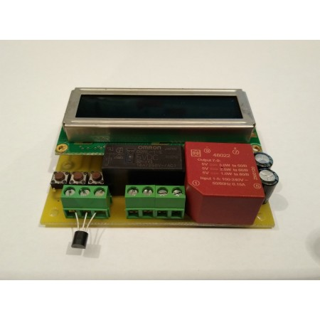 Digitálny termostat pre liaheň