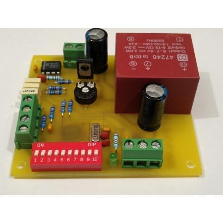 1 kanálový DMX - 0-10V ovládač