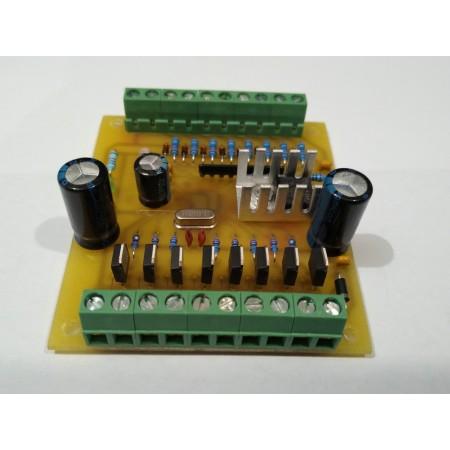 8 kanálovy 0-10V na PWM prevodník
