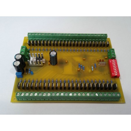 48 kanálovy DMX - PWM prevodník 12BIT