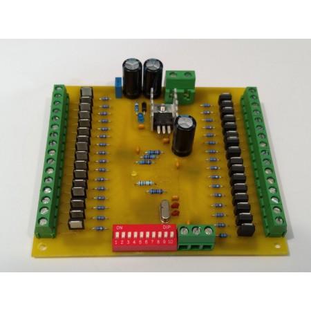 32 kanálovy DMX - PWM prevodník 12BIT