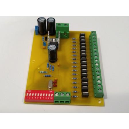 16 kanálovy DMX - PWM prevodník 12BIT