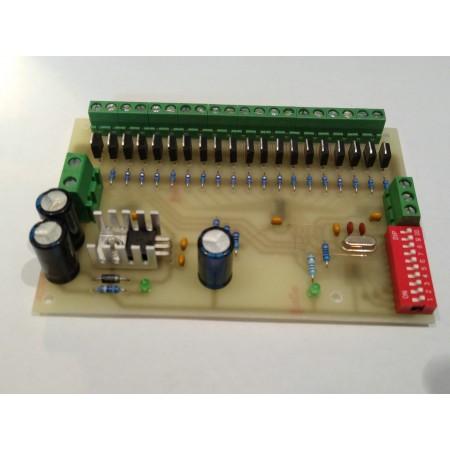 20 kanálovy DMX - PWM prevodník 12BIT