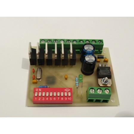 6 kanálovy DMX - PWM prevodník 70kHz