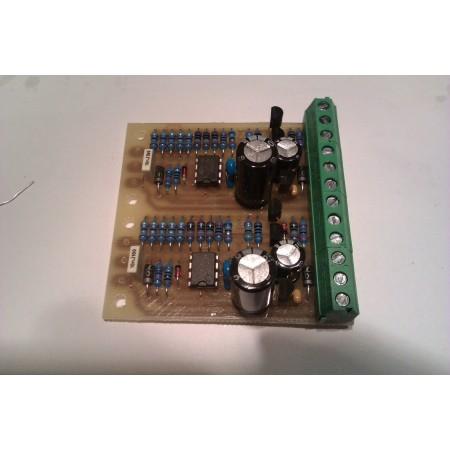 Driver k laserovej diode 2X
